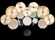 This group is for anyone who plays a symmetrical (or ambidextrous) drum kit. Do you set up your toms center-out like Mike Mangini? Have a central hi-hat like Bill Bruford and Joe...